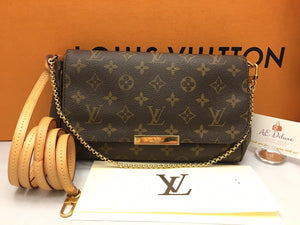 Louis Vuitton Favorite MM Monogram Bag (MI1124)