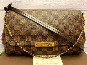 Louis Vuitton Favorite MM Damier Ebene (FL4124)
