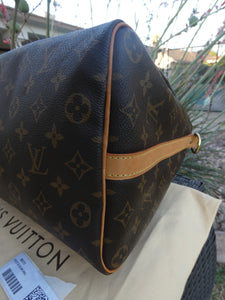 Louis Vuitton Speedy 35 Bandouliere MNG Shoulder Bag