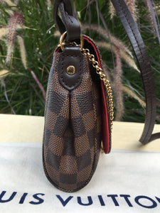 Louis Vuitton Favorite MM Damier Ebene Bag (DU2137)