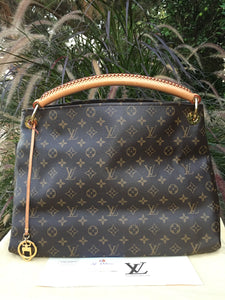 Louis Vuitton Artsy MM Monogram Canvas Hobo Bag (CA3110)