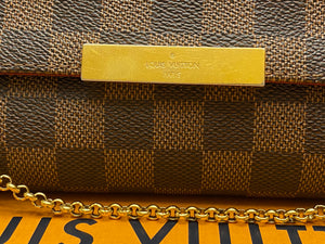Louis Vuitton Favorite MM Damier Ebene Crossbody (FL0145)