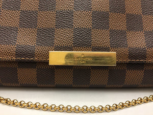 Louis Vuitton Favorite PM Damier Ebene Crossbody Bag (FL2143)