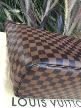 Load image into Gallery viewer, Louis Vuitton Neverfull MM Damier Ebene Canvas Tote (SF0155)