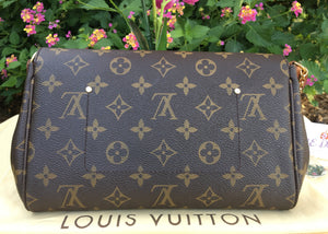 Louis Vuitton Favorite MM Monogram Bag (SA2193)