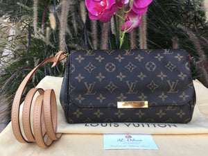 Louis Vuitton Favorite MM Monogram Crossbody Bag (FL3146)