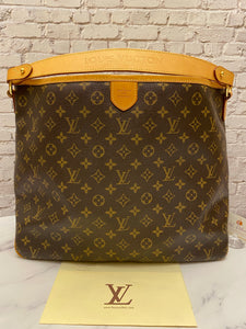 Louis Vuitton Delightful MM Monogram Bag (FL0121)
