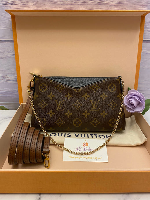 Louis Vuitton Pallas Noir Crossbody (CA4156)