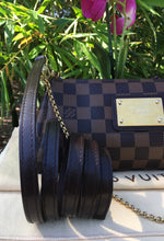 Load image into Gallery viewer, Louis Vuitton Eva Damiar Ebene Clutch Crossbody Bag (DU0162)