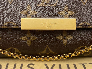 Louis Vuitton Favorite MM Monogram Bag (SA4186)