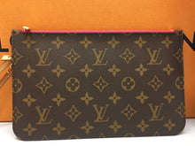 Load image into Gallery viewer, Louis Vuitton Neverfull MM/GM Pink Interior Wristlet