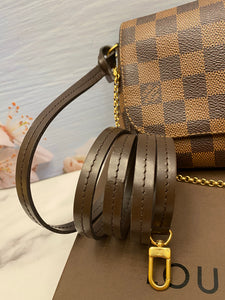 Louis Vuitton Favorite PM Damier Ebene Bag (DU2143)
