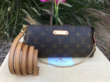 Load image into Gallery viewer, Louis Vuitton Eva Monogram Cutch Crossbody Bag (DU4101)