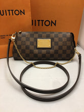 Load image into Gallery viewer, Louis Vuitton Eva Damiar Ebene Clutch Crossbody Bag (AA1151)