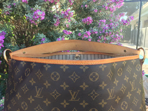 Louis Vuitton Delightful MM Monogram Shoulder Bag (FL2192)