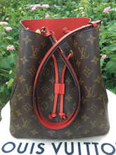 Load image into Gallery viewer, Louis Vuitton Neonoe Red Monogram Shoulder Crossbody Bag (SD0177)