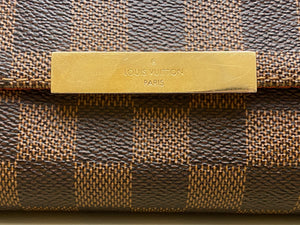Louis Vuitton Favorite PM Damier Ebene Bag (DU2157)