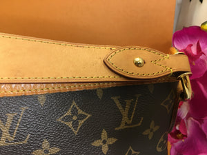 Louis Vuitton Delightful MM Monogram Shoulder Bag (MI3185)