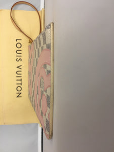 Louis Vuitton LIMITED Tahitienne Damier Azur Neverfull MM/GM Pochette