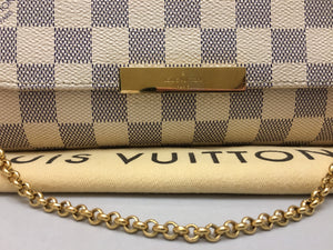 Louis Vuitton Favorite PM Damier Azur Crossbody (DU2144)