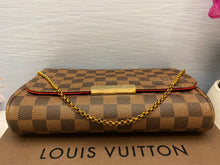 Load image into Gallery viewer, Louis Vuitton Favorite MM Damier Ebene Bag (FL0116)