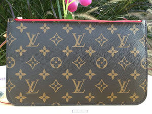 Louis Vuitton Neverfull MM/GM Cherry Wristlet (AR0166)