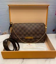 Load image into Gallery viewer, Louis Vuitton Favorite MM Damier Ebene Crossbody (FL0145)
