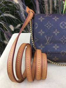 Louis Vuitton Favorite MM Monogram Bag (DU2143)