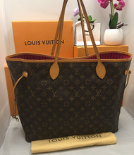 Load image into Gallery viewer, Louis Vuitton Neverfull GM Fuschia Monogram Shoulder Tote (TJ3114)
