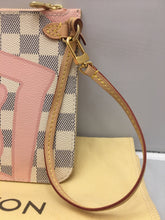 Load image into Gallery viewer, Louis Vuitton LIMITED Tahitienne Damier Azur Neverfull MM/GM Pochette