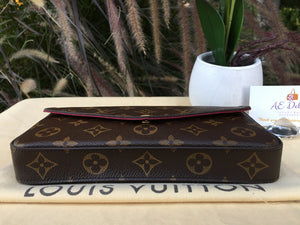 Louis Vuitton Felicie Pochette Monogram Crossbody Bag
