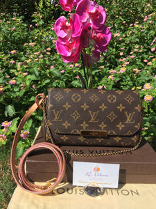 Louis Vuitton Favorite PM Monogram Crossbody Bag (DU0193)
