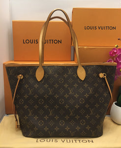 Louis Vuitton Neverfull MM Cherry Tote