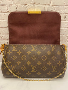 Louis Vuitton Favorite MM Monogram Bag (DU3192)
