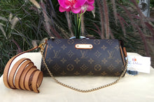 Load image into Gallery viewer, Louis Vuitton Eva Monogram Clutch Crossbody Bag (AA4192)
