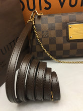 Load image into Gallery viewer, Louis Vuitton Eva Damiar Ebene Clutch Crossbody Bag (AA2100)