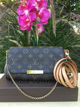 Load image into Gallery viewer, Louis Vuitton Favorite PM Monogram Crossbody Bag (SD3175)