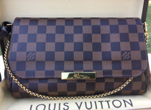 Load image into Gallery viewer, Louis Vuitton Favorite MM Damier Ebene Crossbody Bag (DU3164)