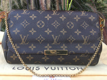 Load image into Gallery viewer, Louis Vuitton Favorite MM Monogram Crossbody Bag (FL3146)