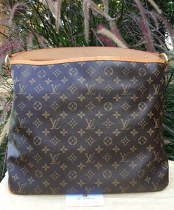 Louis Vuitton Delightful MM Monogram Shoulder Bag (FL0134)