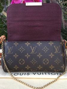 Louis Vuitton Favorite PM Monogram Bag (SA4133)