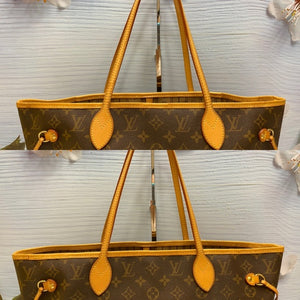 Neverfull MM Beige Monogram Tote (MB0121)