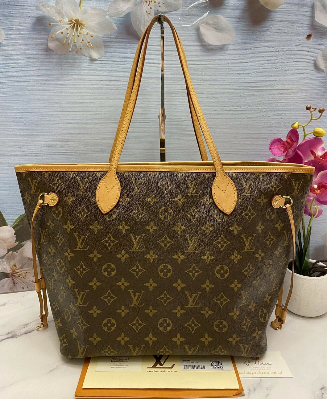 Louis Vuitton Neverfull MM Monogram (SP0127)