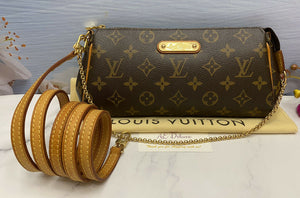 Louis Vuitton Eva Monogram Clutch (DU0059)