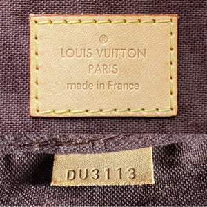 Louis Vuitton Favorite MM Monogram Purse (DU3113)