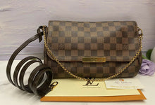 Load image into Gallery viewer, Louis Vuitton Favorite MM Damier Ebene Clutch (DU4186)