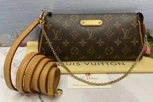 Louis Vuitton Eva Monogram Clutch (SN0182)