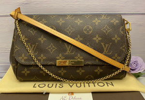 Louis Vuitton Favorite MM Monogram Clutch (SA4164)