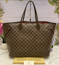 Load image into Gallery viewer, Louis Vuitton Neverfull GM Damier Ebene (FL1029)