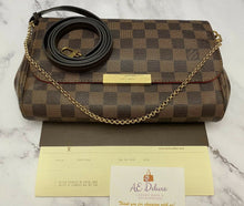 Load image into Gallery viewer, Louis Vuitton Favorite MM Damier Ebene (FL2126)